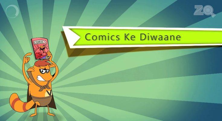 comic at animation Kolkata
