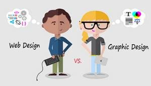 Graphic Designing Vs Web designing