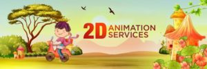2D Cartoon Animation Kolkata