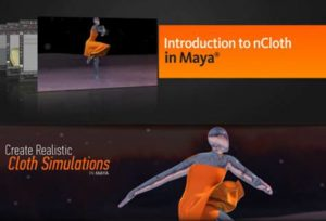 nCloth Simulations in MAYA with Animation Kolkata