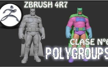 Polygroups In ZBrush @Animation Kolkata