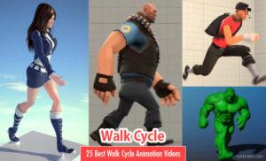 Walk Cycle In Animation Kolkata