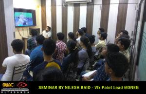 Nilesh Baid VFX Lead Artist X student Maac Ultadanga