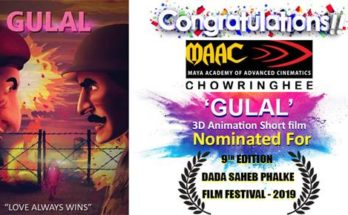 GULAL 3D Animation Short Film Maac Chowringhee