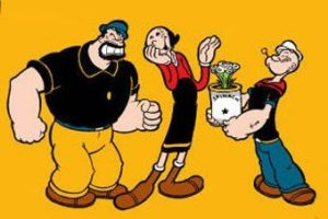 2D Character Popeye Learn At best animation institute Kolkata