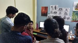 MAAC Students Animation Studio Visit