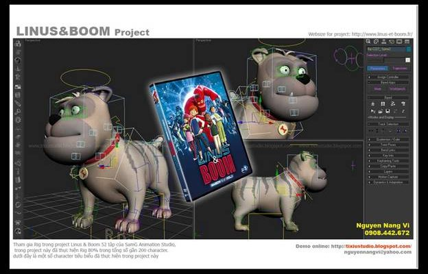 Rigging Guidelines for a Good Rig Best animation institute