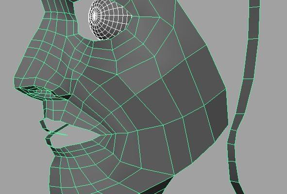 Maya Face Modelling with best animation institute Kolkata