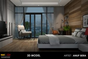 3D Model Design at Animation Institute Kolkata