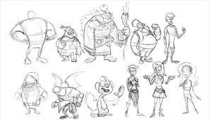 CHARACTER DESIGNING IN ANIMATION Institute Kolkata