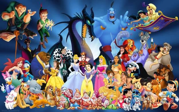 Disney Best Minor Characters