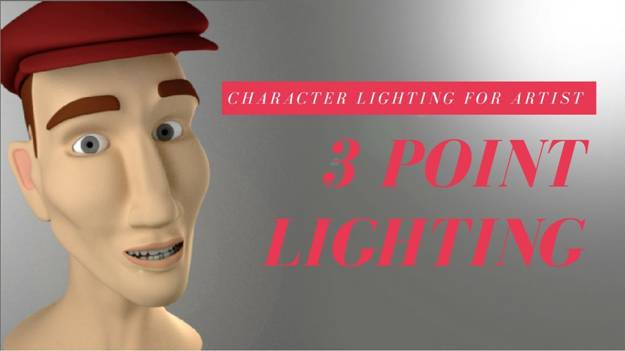 three point lighting At animation Kolkata