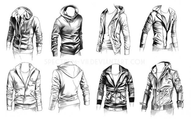 Fold Types of Drawing Clothing In 3D Animation