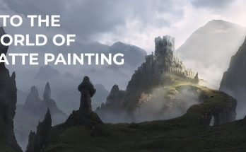 Matte Painting With Best Animation VFX training Institute