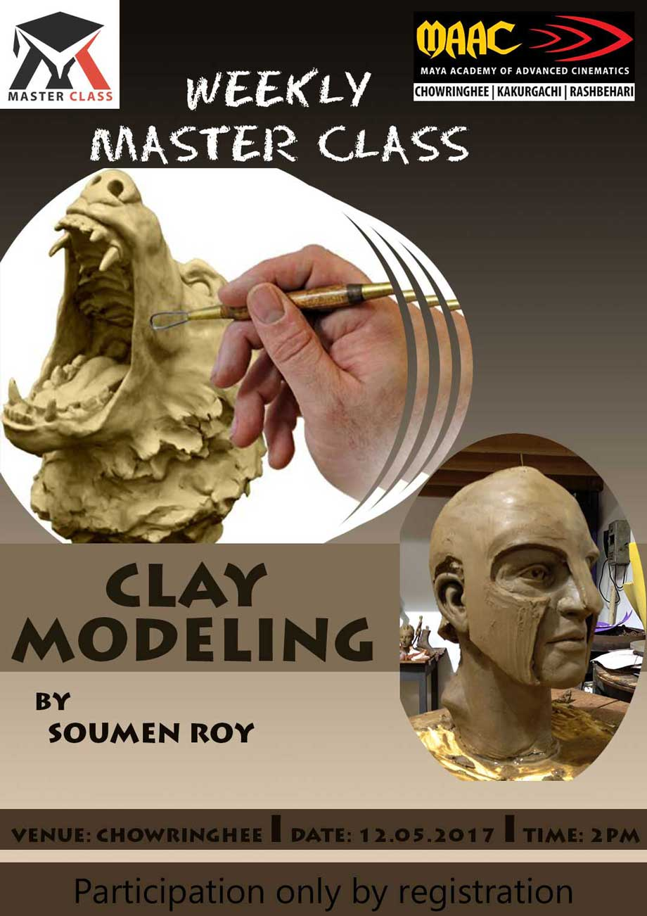 Weekly Master Class on Clay Modeling - Soumen Roy