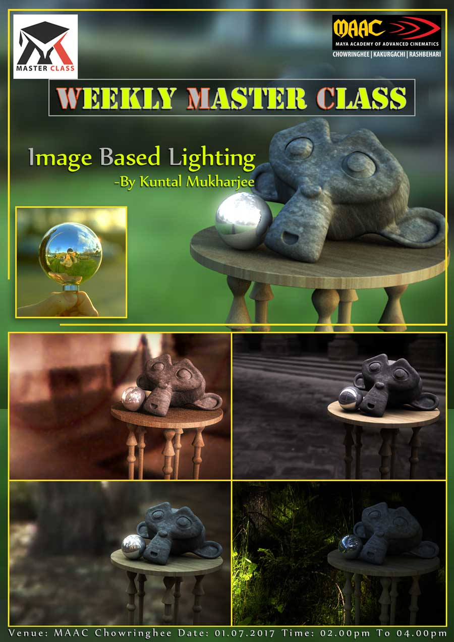 Weekly Master Class on Image Based Lighting - Kuntal Mukherjee