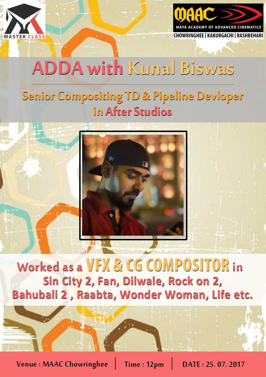 Weekly Master Class on Adda with Kunal