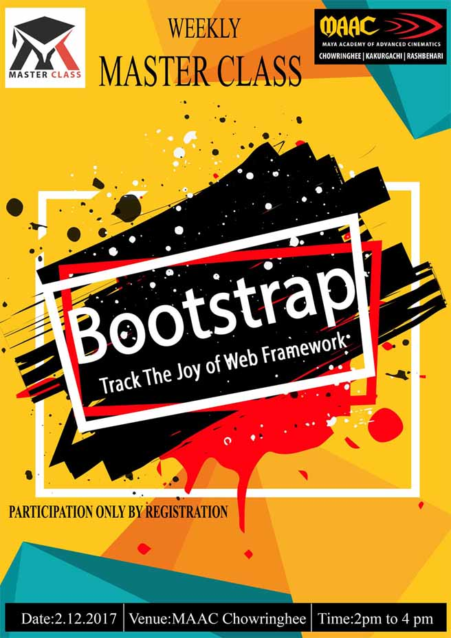 Weekly Master Class on Bootstrap - Web Framework