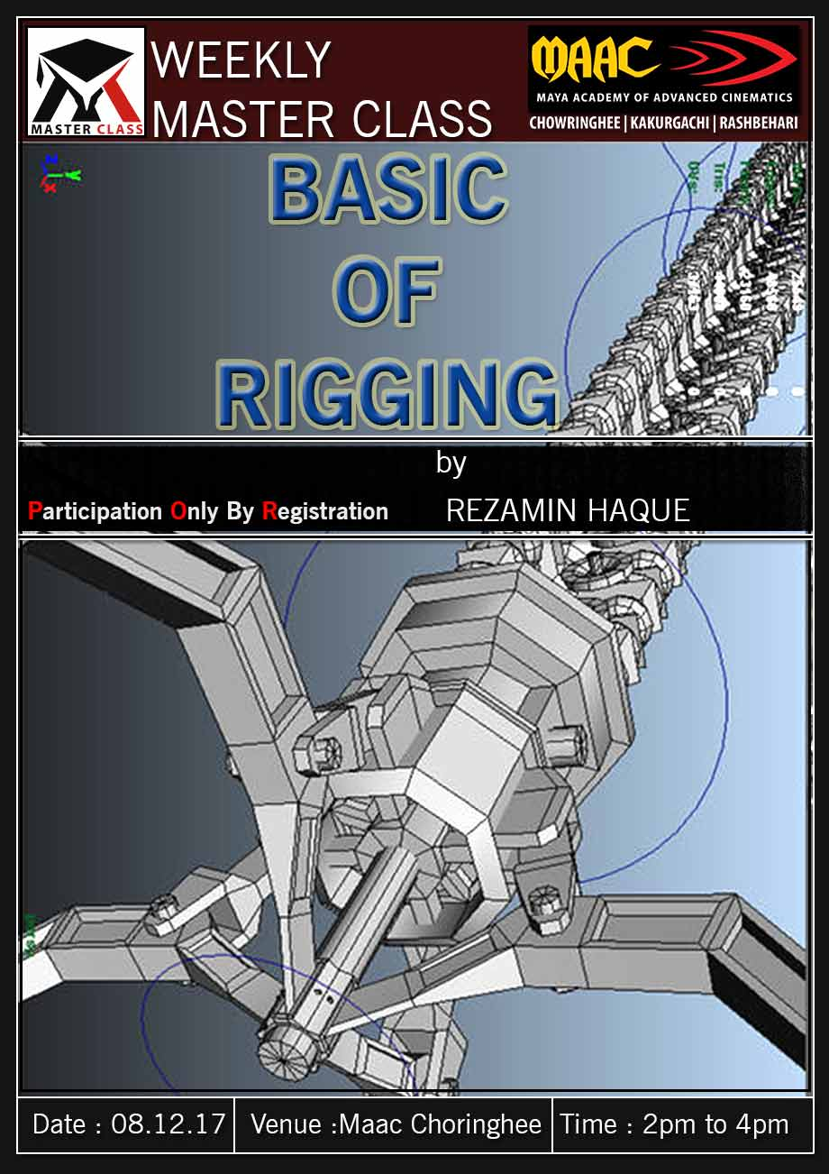 Weekly Master Class on Basic Of Rigging