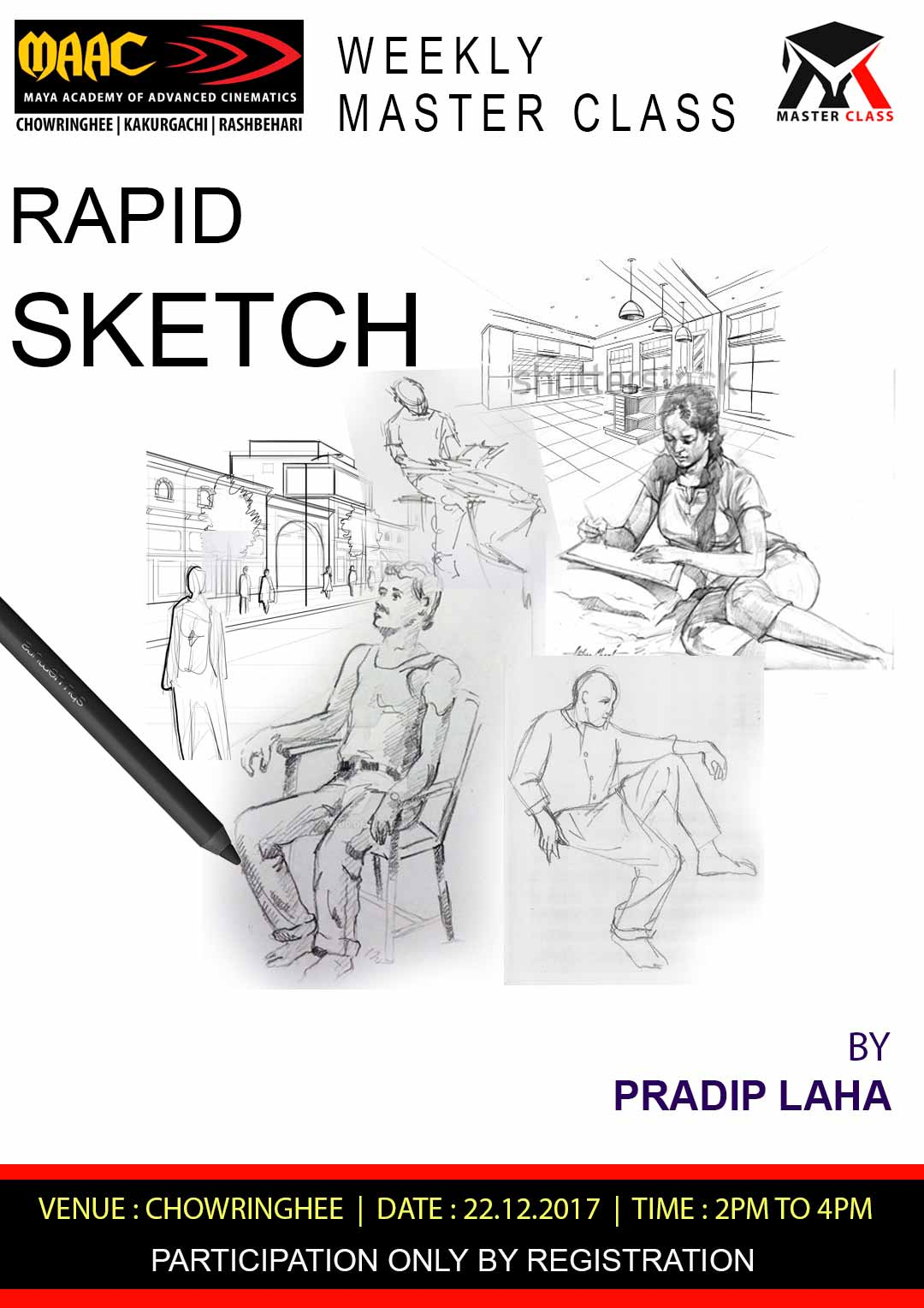Weekly Master Class on Rapid Sketch