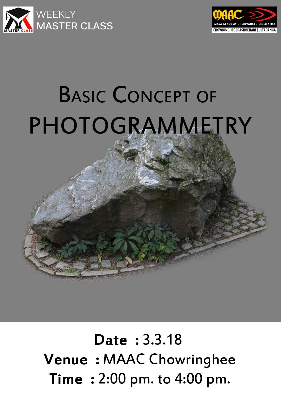 Weekly Master Class on Basic Concept Of Photogrammetry