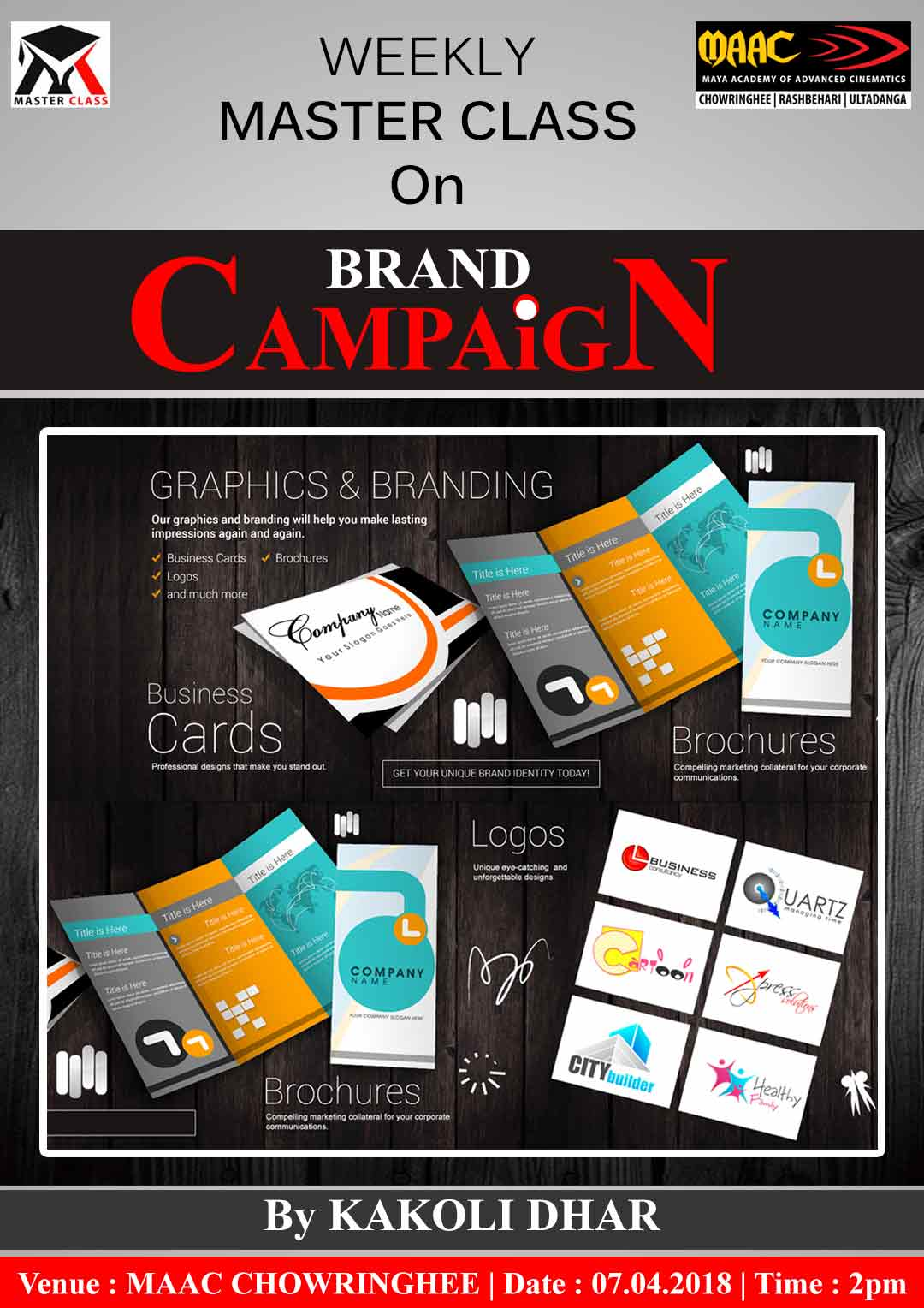 Weekly Master Class on Brand Campaign