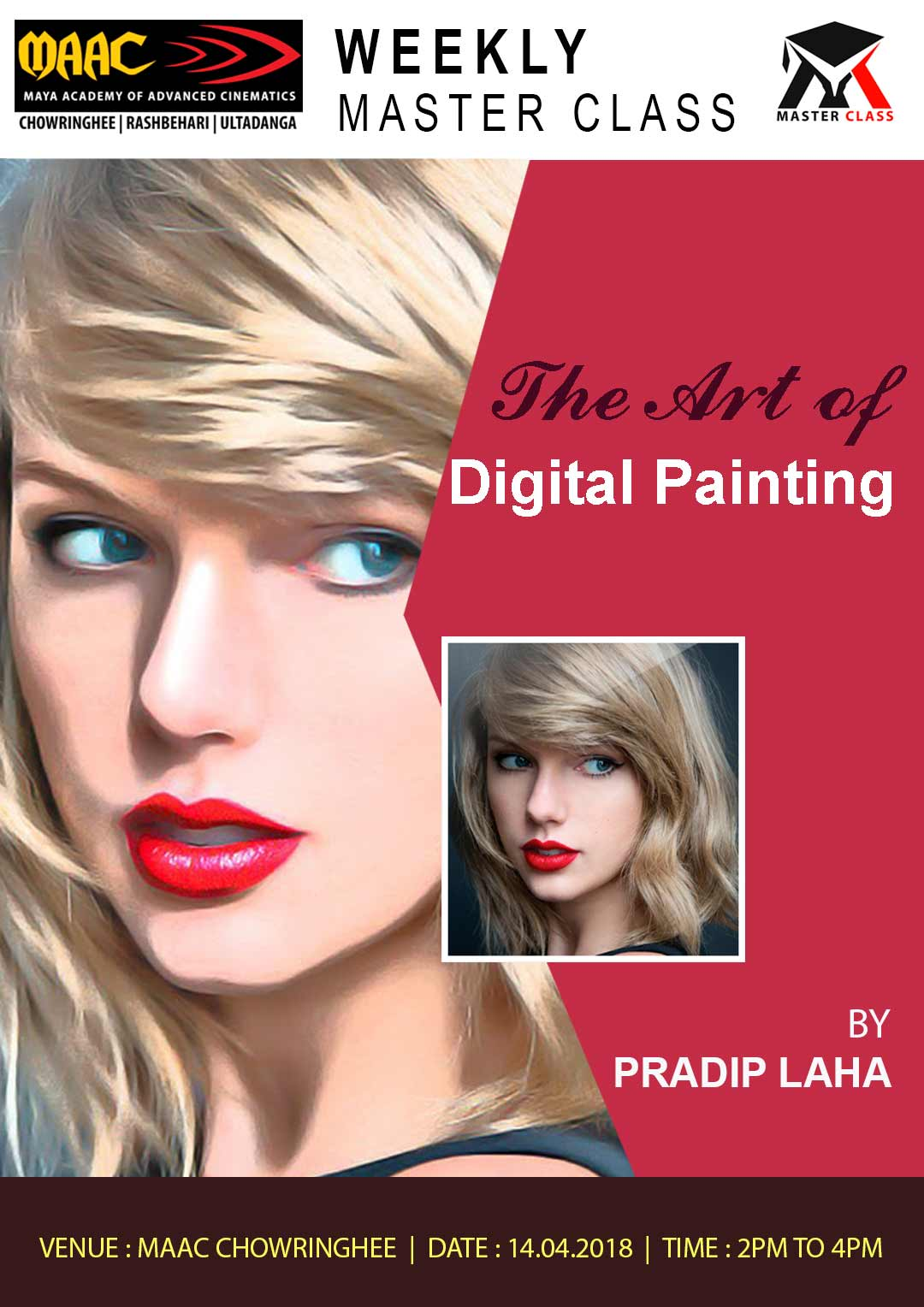 Weekly Master Class on The Art Of Digital Painting