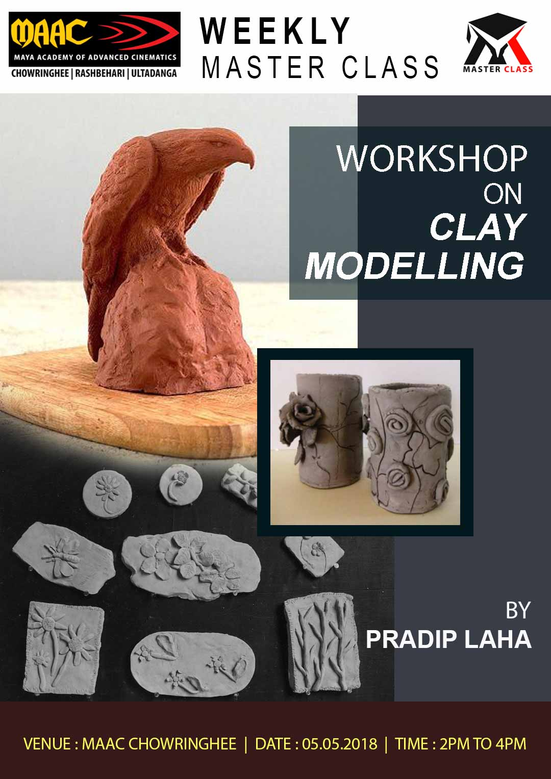 Weekly Master Class on Clay Modelling