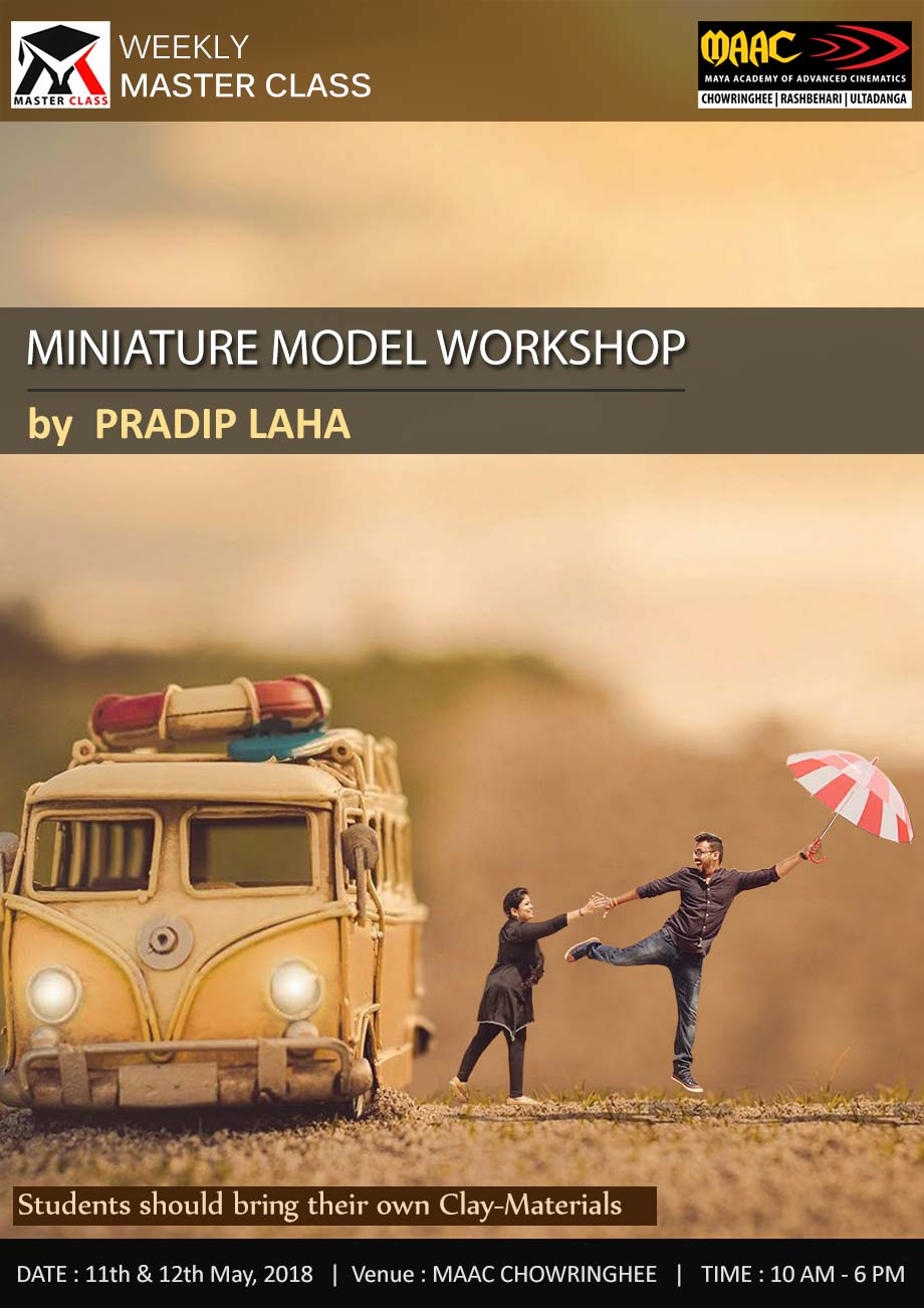 Weekly Master Class on Miniature Model Workshop