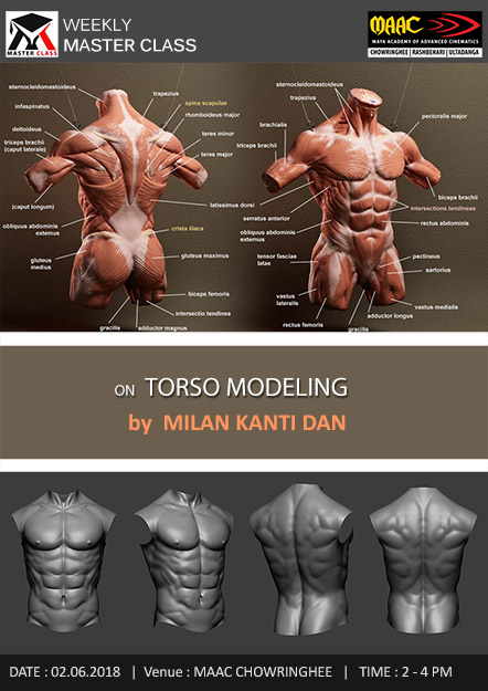 Weekly Master Class on Torso Modeling
