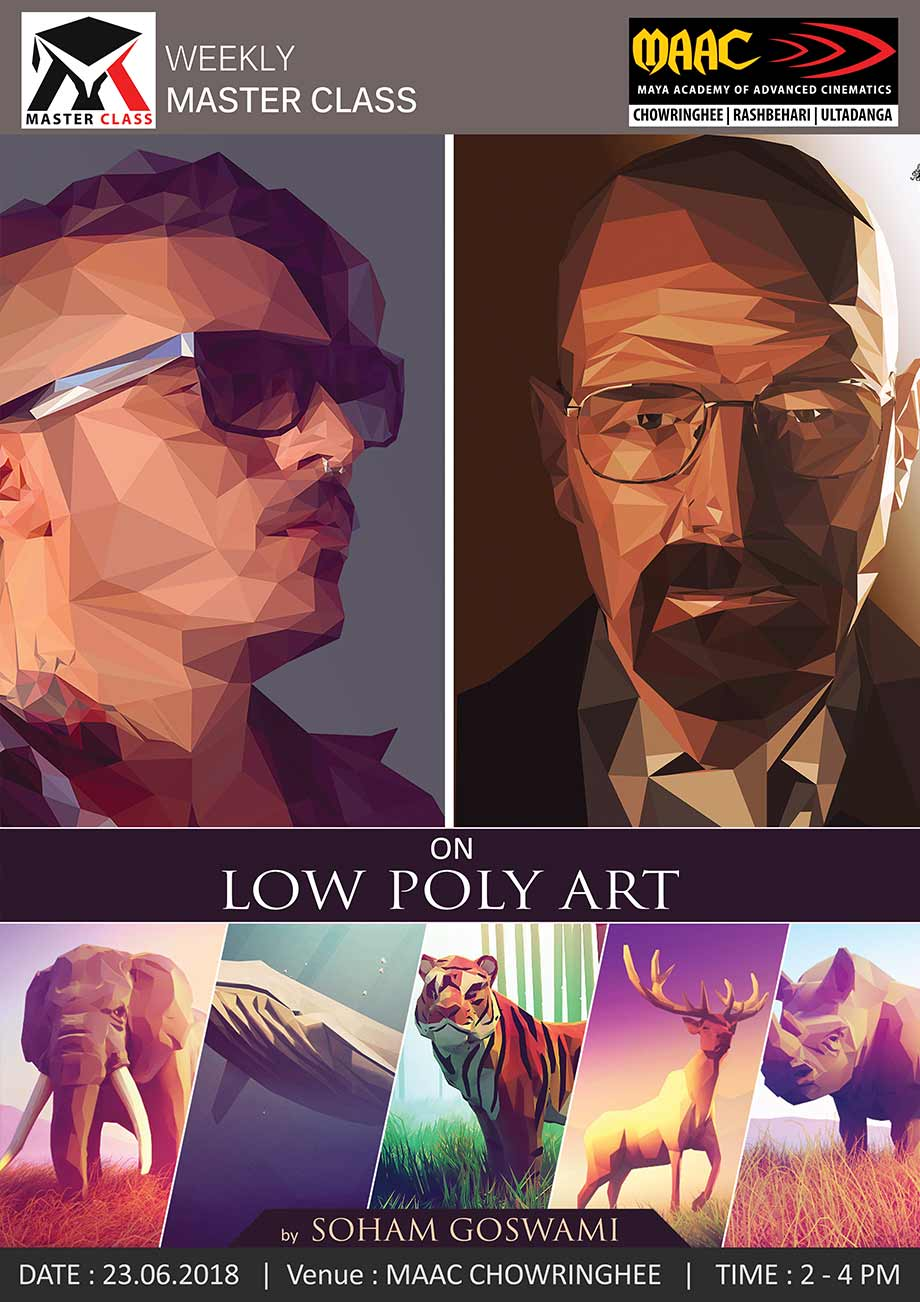 Weekly Master Class on Low Poly Art