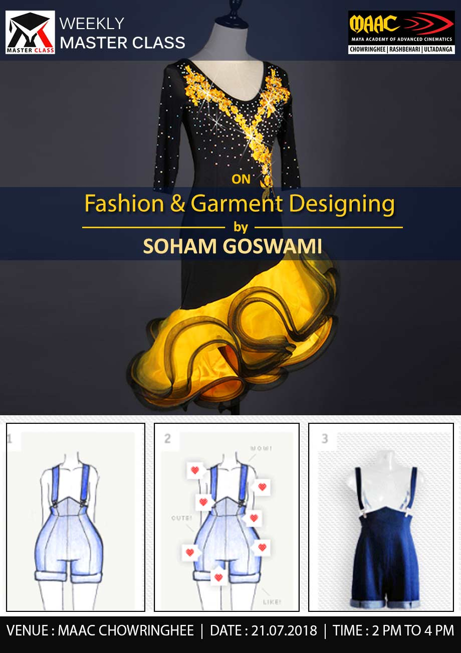 Weekly Master Class on Fashion & Garment Designing