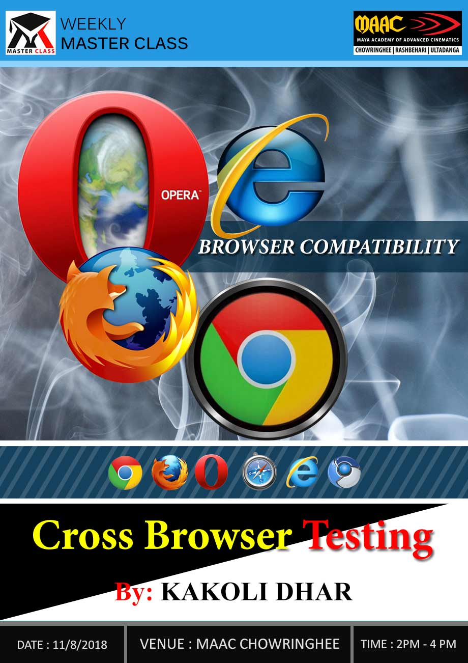 Weekly Master Class on Cross Browser Testing