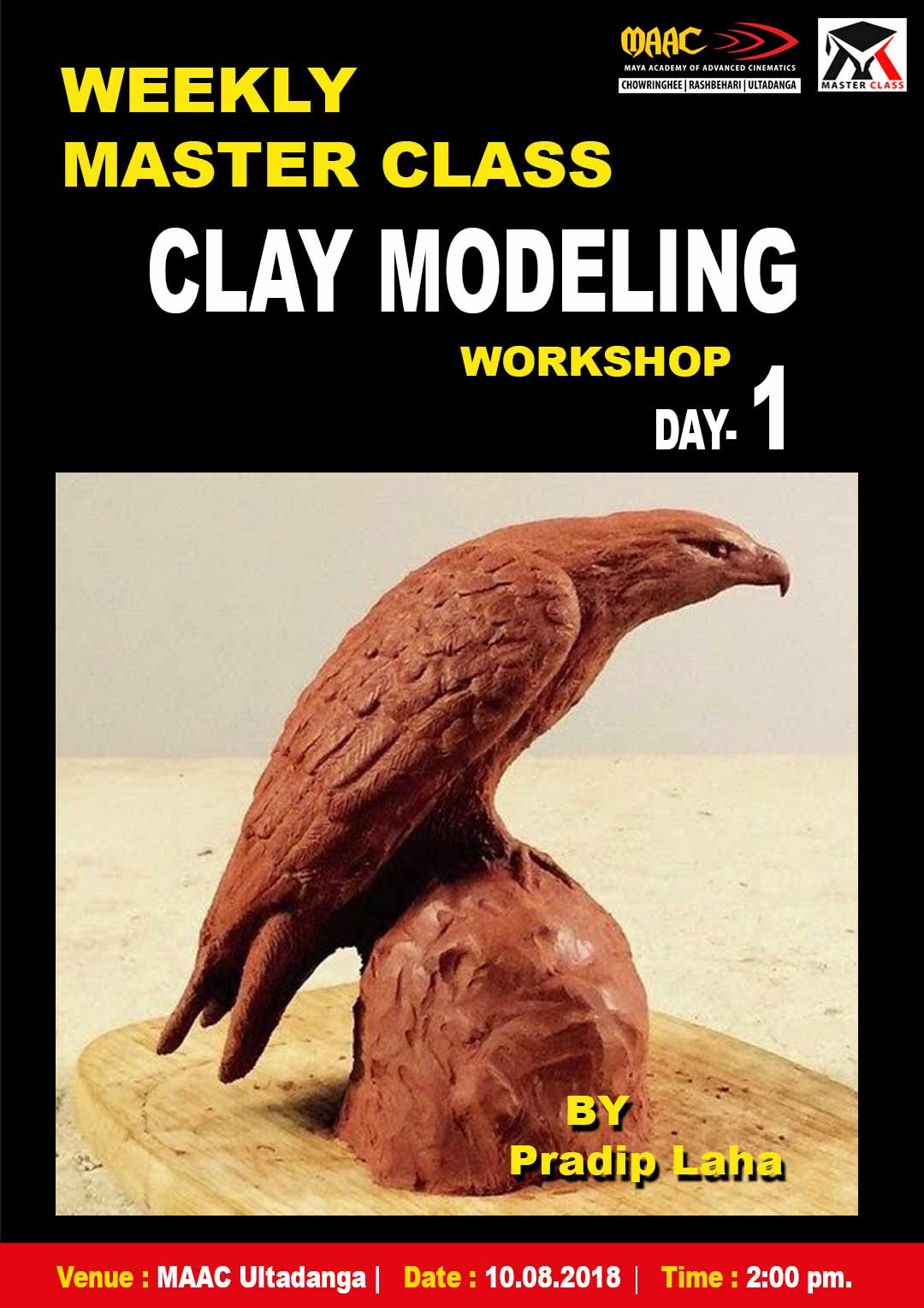 Weekly Master Class on Clay Modeling