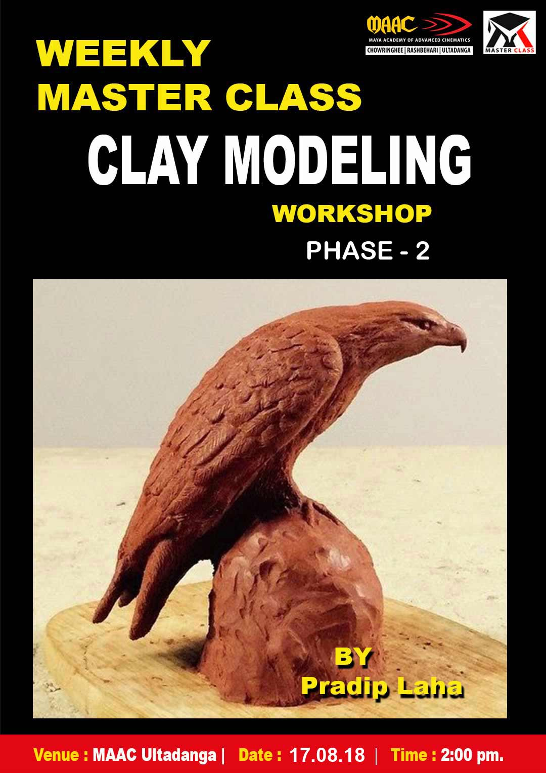 Weekly Master Class on Clay Modeling Phase-2
