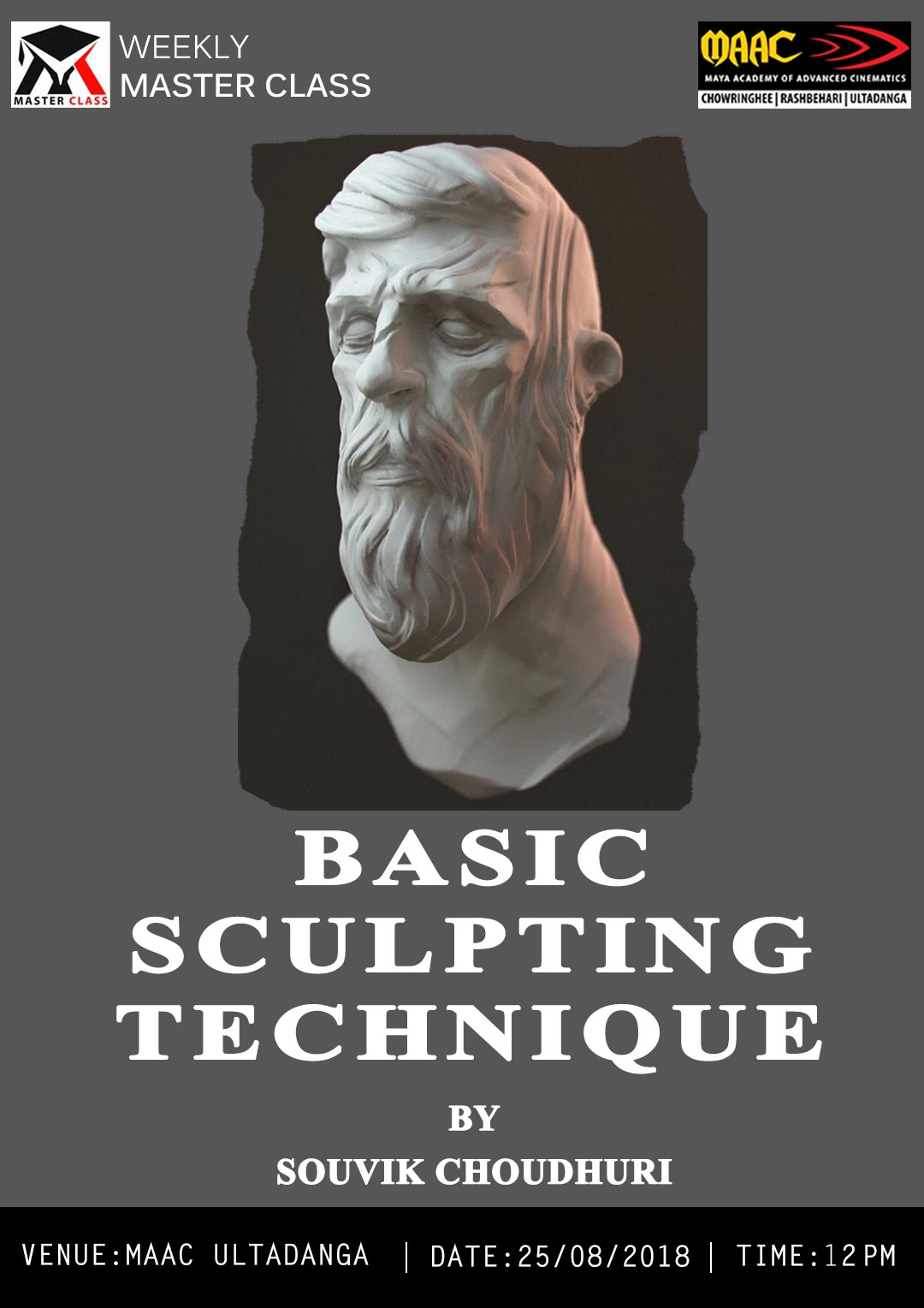 Weekly Master Class on Basic Sculpting Technique