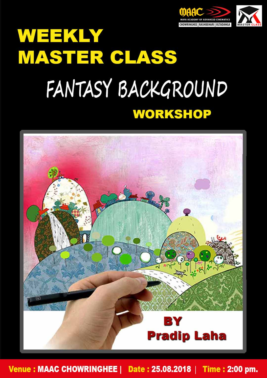Weekly Master Class on Fantasy Background Workshop