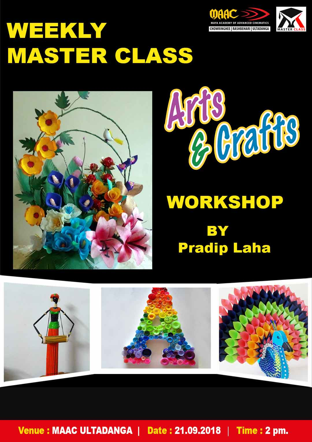 Weekly Master Class on art-&-craft