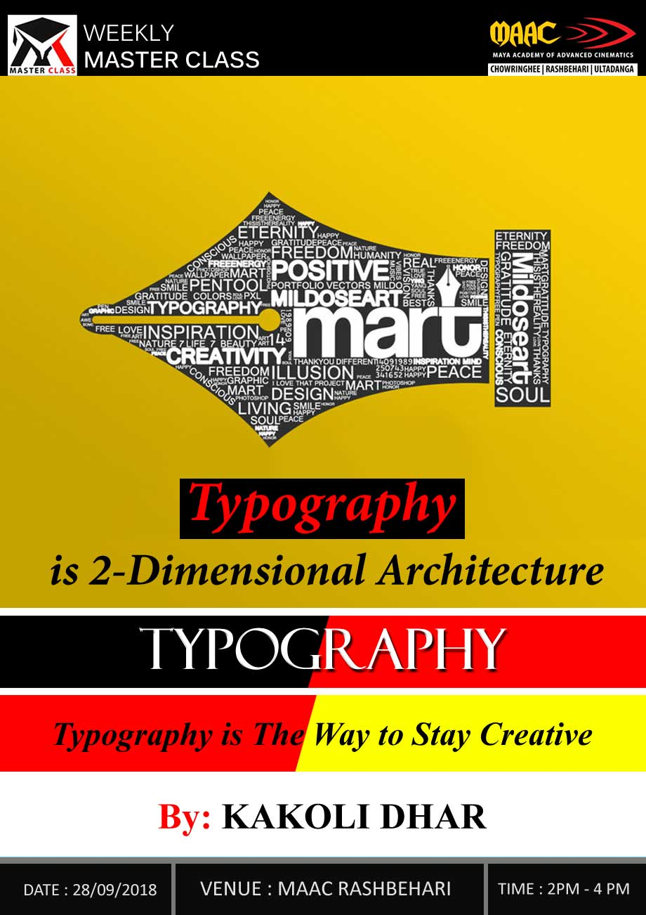 Weekly Master Class on Typography