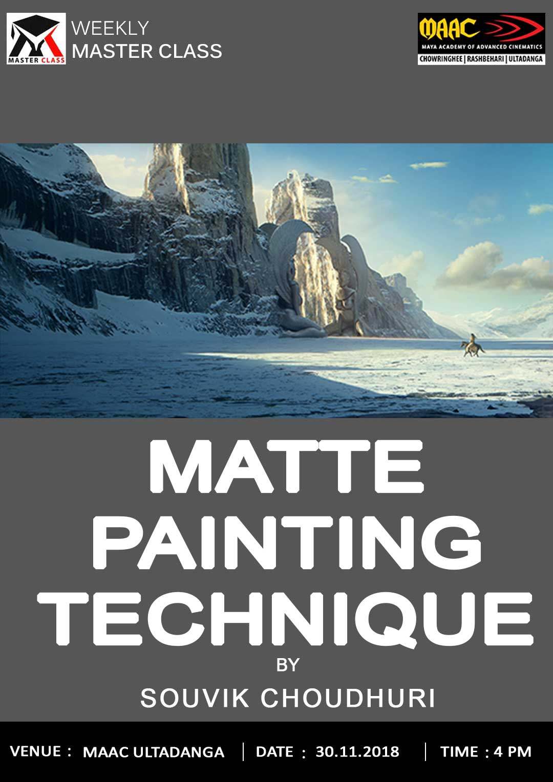 Weekly Master Class on Matte Painting Technique