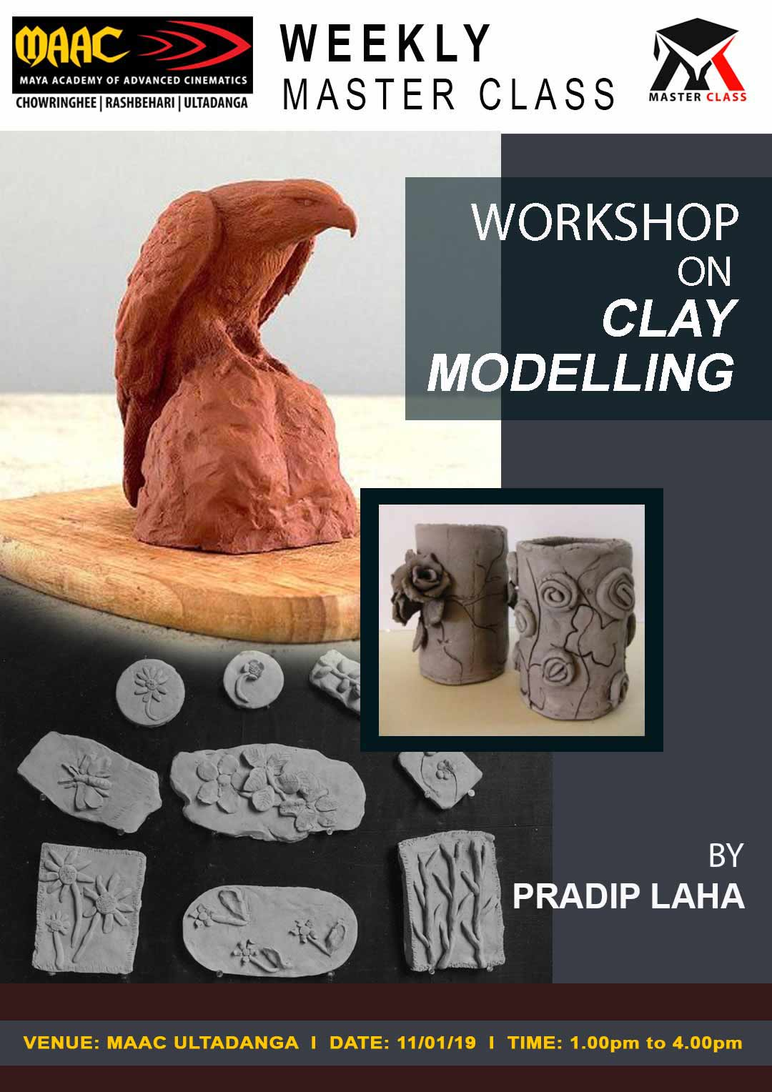 Weekly Master Class on Workshop on Clay Modeling