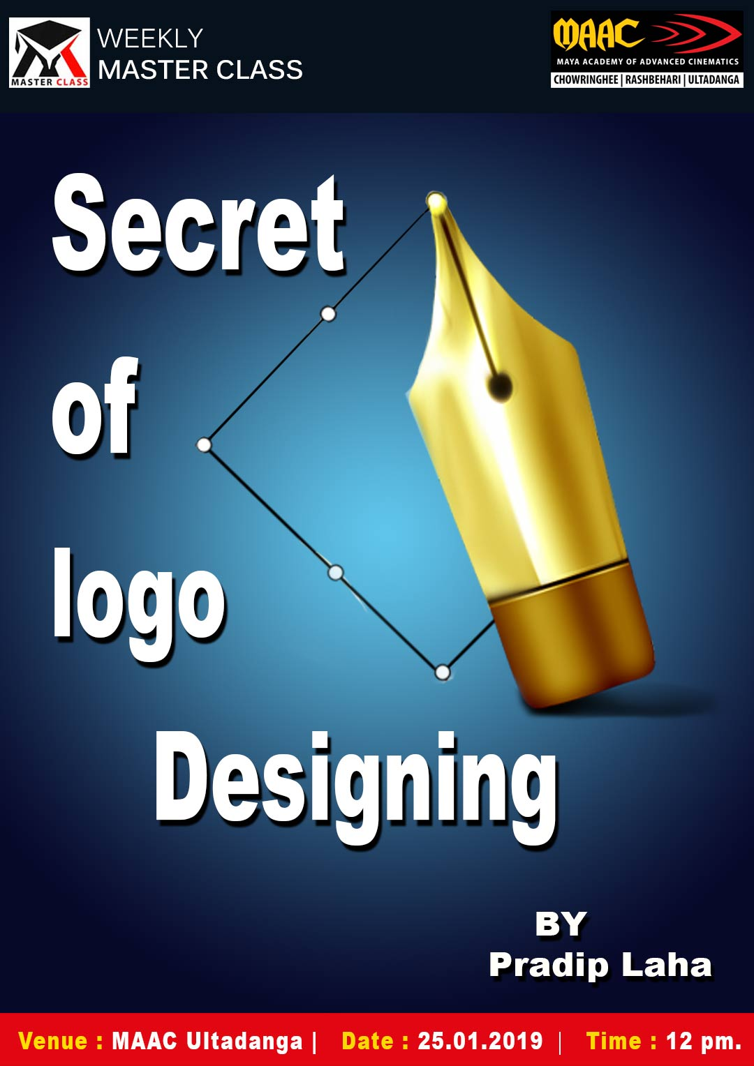 Weekly Master Class on Secret of Logo Designing