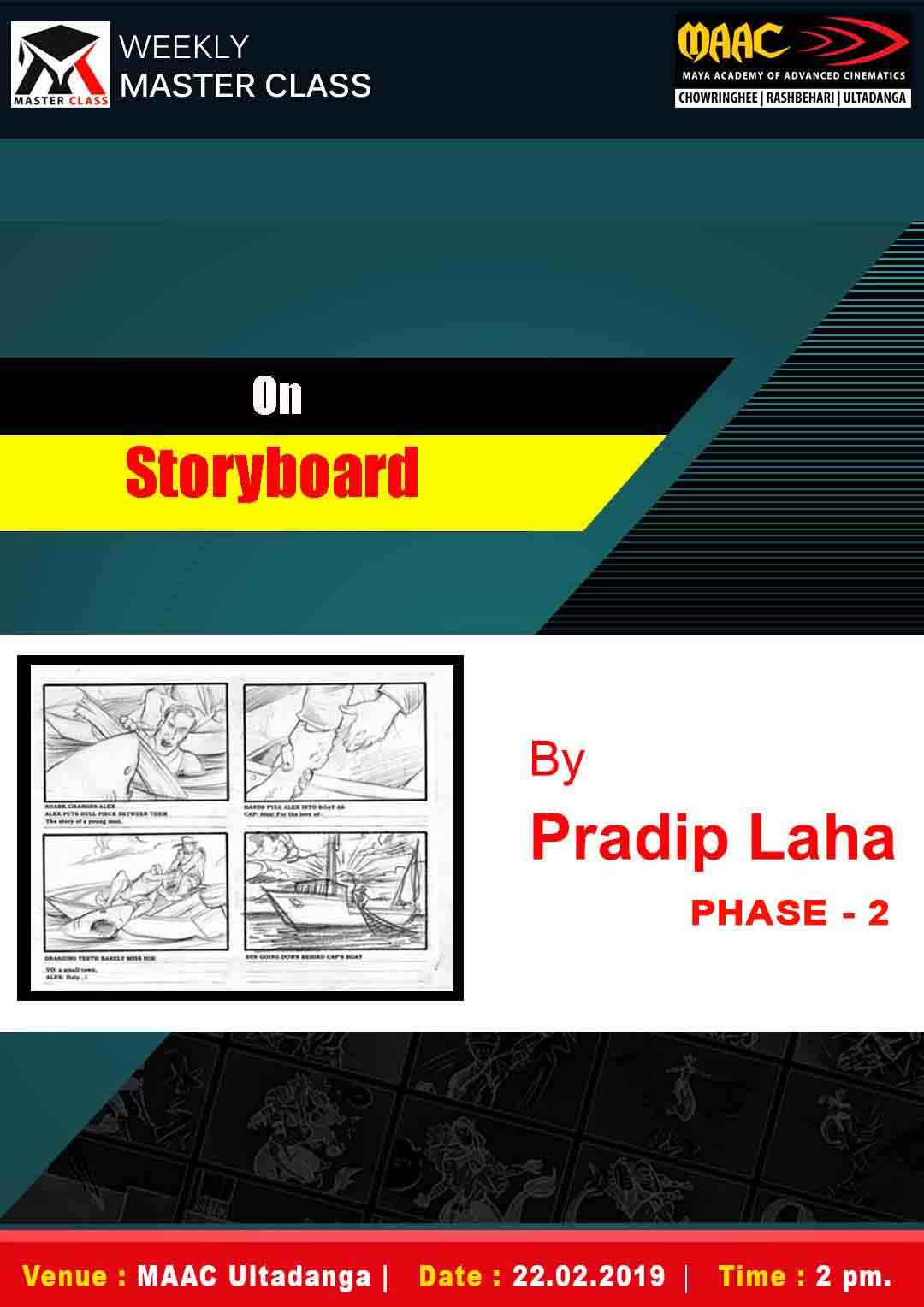 Weekly Master Class on Story Boarding Phase 2