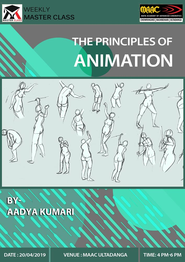 Weekly Master Class on The Principles of Animation