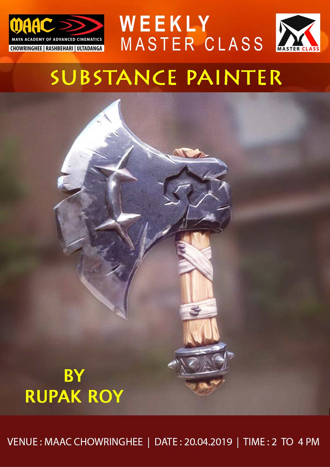 Weekly Master Class on Substance Painter