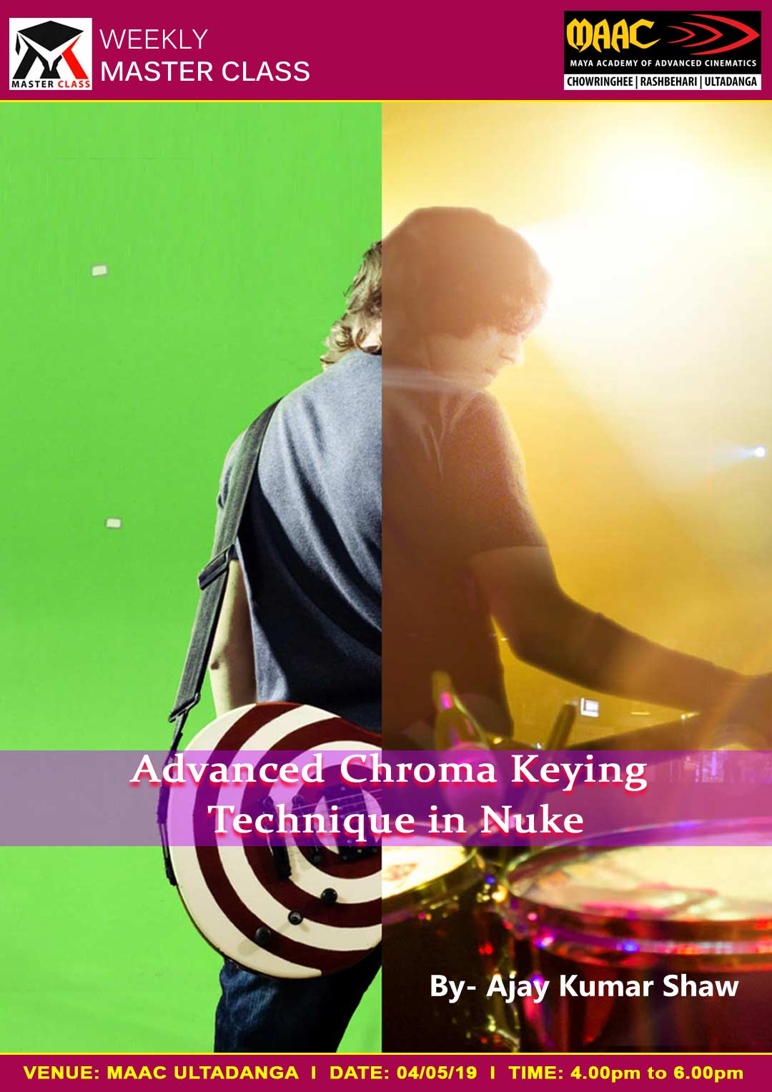 Weekly Master Class on Advanced Chroma Keying Technique in Nuke