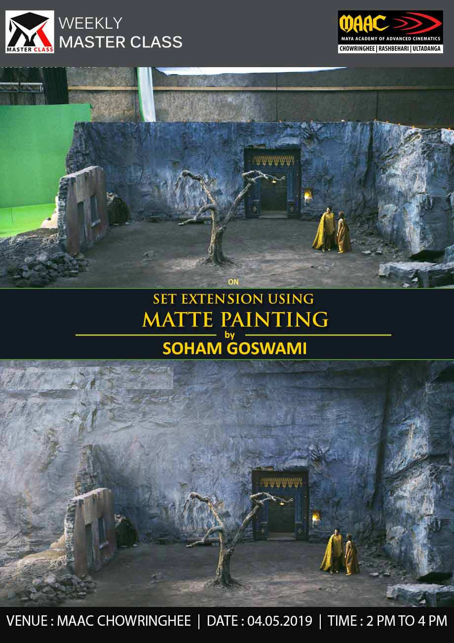 Weekly Master Class on Set Extension Using Matte Painting