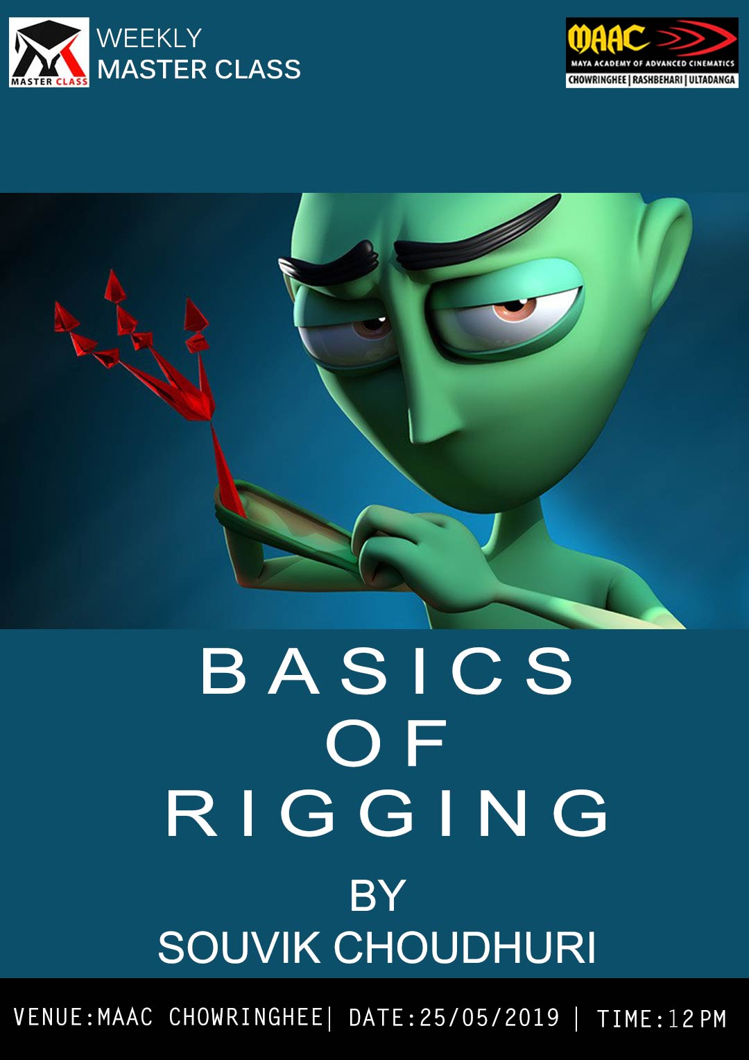 Weekly Master Class on Basics Of Rigging