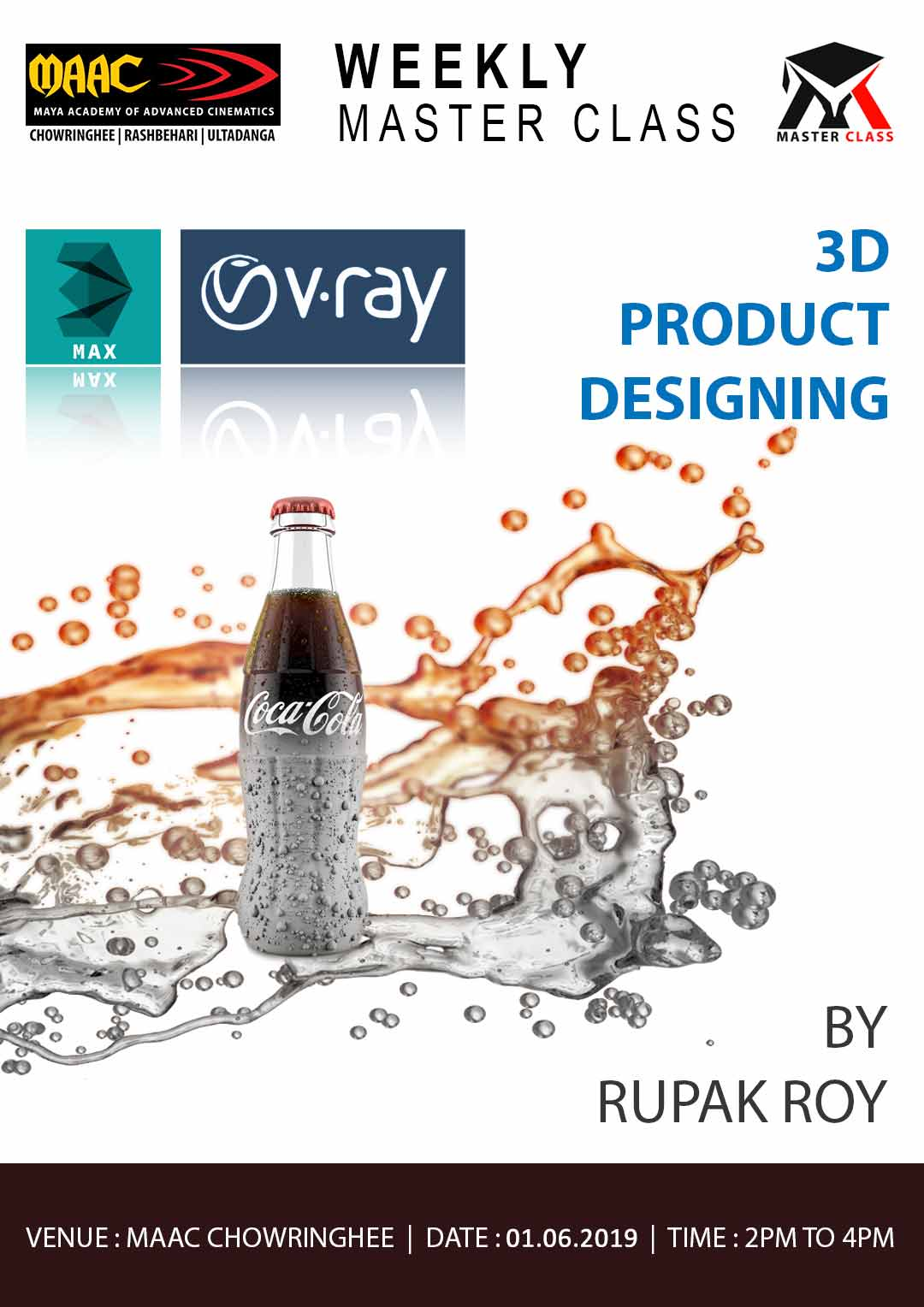 Weekly Master Class on 3D Product Designing