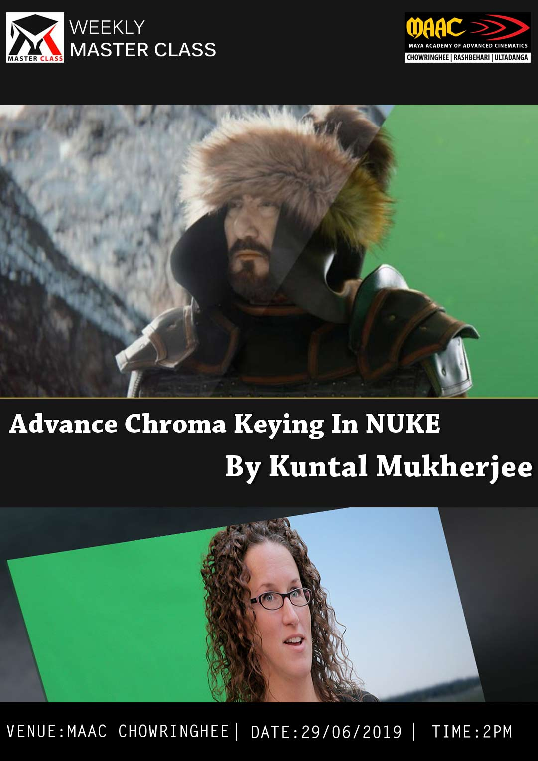 Weekly Master Class on Advance Chroma Keying in Nuke